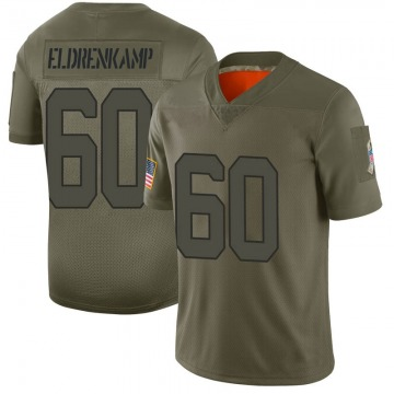 Youth Nike Indianapolis Colts Jake Eldrenkamp Camo 2019 Salute to Service Jersey - Limited