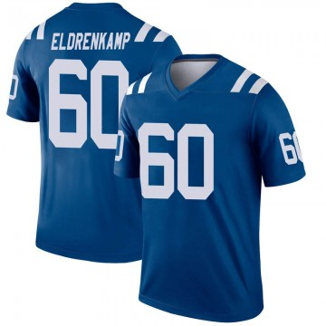 Youth Nike Indianapolis Colts Jake Eldrenkamp Royal Inverted Jersey - Legend