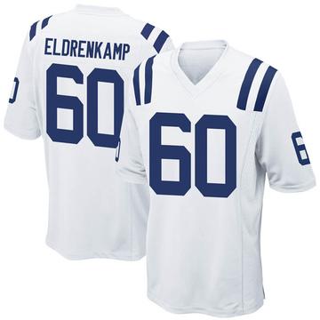 Youth Nike Indianapolis Colts Jake Eldrenkamp White Jersey - Game