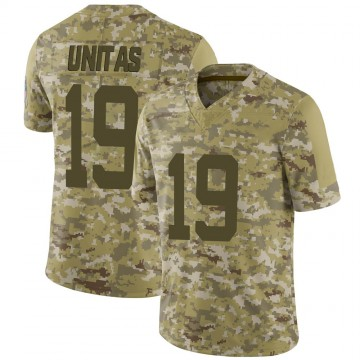 Youth Nike Indianapolis Colts Johnny Unitas Camo 2018 Salute to Service Jersey - Limited