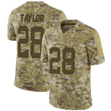 Youth Nike Indianapolis Colts Jonathan Taylor Camo 2018 Salute to Service Jersey - Limited