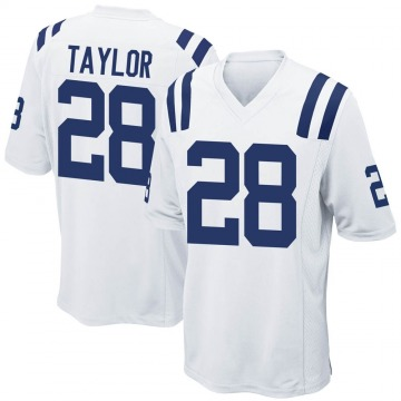 Youth Nike Indianapolis Colts Jonathan Taylor White Jersey - Game