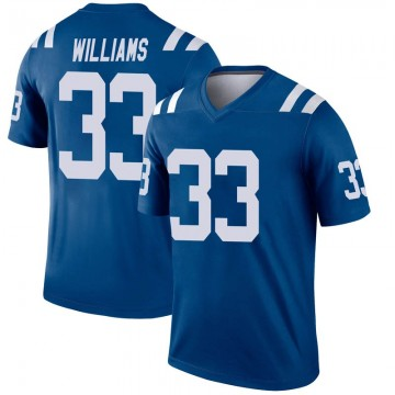 Youth Nike Indianapolis Colts Jonathan Williams Royal Inverted Jersey - Legend