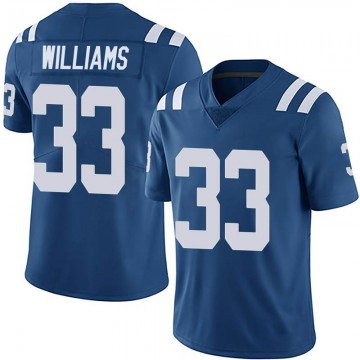 Youth Nike Indianapolis Colts Jonathan Williams Royal Team Color Vapor Untouchable Jersey - Limited