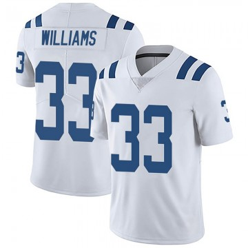 Youth Nike Indianapolis Colts Jonathan Williams White Vapor Untouchable Jersey - Limited