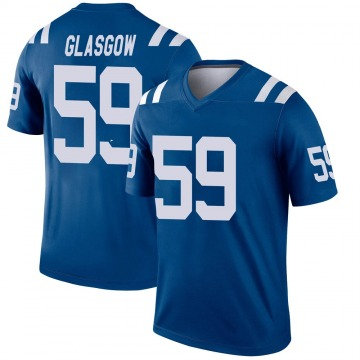 Youth Nike Indianapolis Colts Jordan Glasgow Royal Jersey - Legend