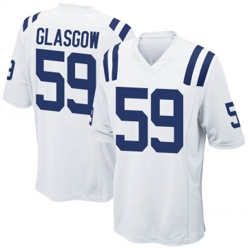 Youth Nike Indianapolis Colts Jordan Glasgow White Jersey - Game