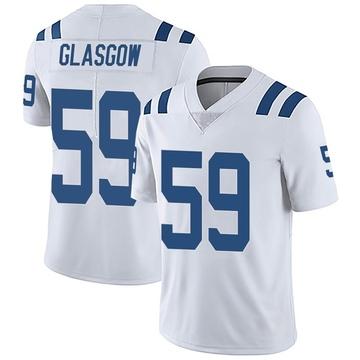 Youth Nike Indianapolis Colts Jordan Glasgow White Vapor Untouchable Jersey - Limited