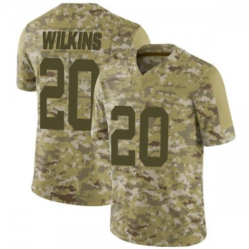 Youth Nike Indianapolis Colts Jordan Wilkins Camo 2018 Salute to Service Jersey - Limited