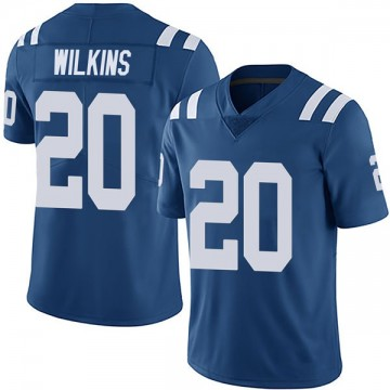 Youth Nike Indianapolis Colts Jordan Wilkins Royal Team Color Vapor Untouchable Jersey - Limited