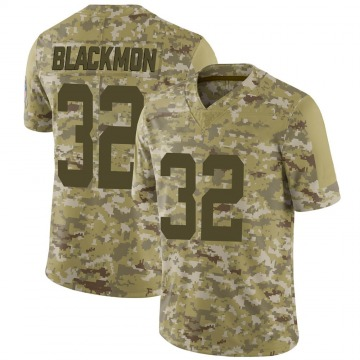 Youth Nike Indianapolis Colts Julian Blackmon Black Camo 2018 Salute to Service Jersey - Limited