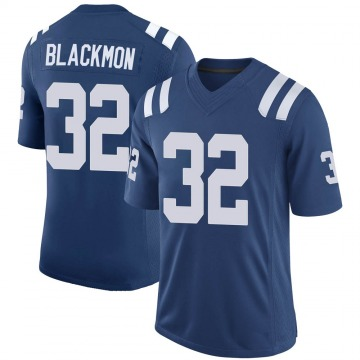 Youth Nike Indianapolis Colts Julian Blackmon Black Royal 100th Vapor Jersey - Limited