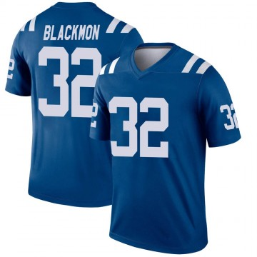 Youth Nike Indianapolis Colts Julian Blackmon Black Royal Jersey - Legend