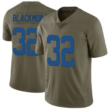 Youth Nike Indianapolis Colts Julian Blackmon Green 2017 Salute to Service Jersey - Limited