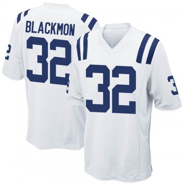 Youth Nike Indianapolis Colts Julian Blackmon White Jersey - Game