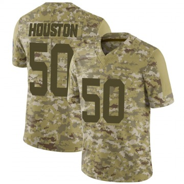 Youth Nike Indianapolis Colts Justin Houston Camo 2018 Salute to Service Jersey - Limited