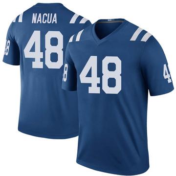 Youth Nike Indianapolis Colts Kai Nacua Royal Color Rush Jersey - Legend