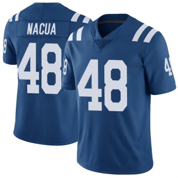 Youth Nike Indianapolis Colts Kai Nacua Royal Color Rush Vapor Untouchable Jersey - Limited