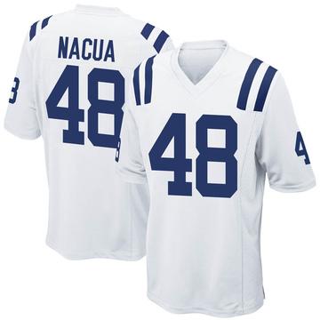 Youth Nike Indianapolis Colts Kai Nacua White Jersey - Game