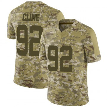 Youth Nike Indianapolis Colts Kameron Cline Camo 2018 Salute to Service Jersey - Limited