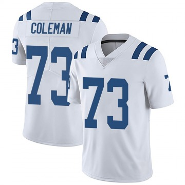 Youth Nike Indianapolis Colts Kendall Coleman White Vapor Untouchable Jersey - Limited