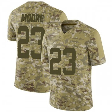 Youth Nike Indianapolis Colts Kenny Moore II Camo 2018 Salute to Service Jersey - Limited