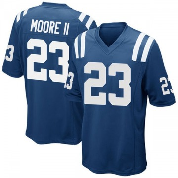 Youth Nike Indianapolis Colts Kenny Moore II Royal Blue Team Color Jersey - Game