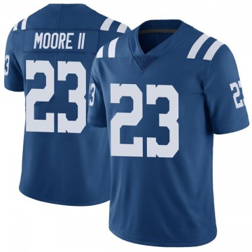Youth Nike Indianapolis Colts Kenny Moore II Royal Color Rush Vapor Untouchable Jersey - Limited