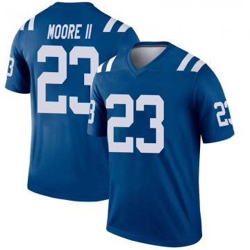 Youth Nike Indianapolis Colts Kenny Moore II Royal Inverted Jersey - Legend