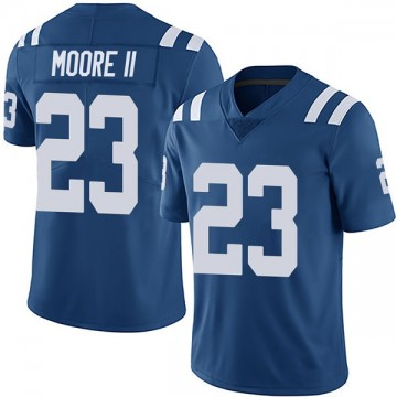 Youth Nike Indianapolis Colts Kenny Moore II Royal Team Color Vapor Untouchable Jersey - Limited