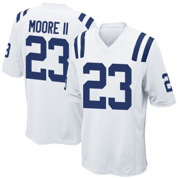 Youth Nike Indianapolis Colts Kenny Moore II White Jersey - Game