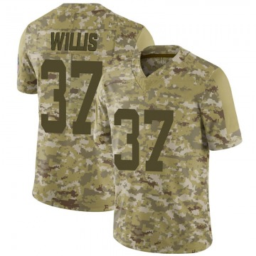 Youth Nike Indianapolis Colts Khari Willis Camo 2018 Salute to Service Jersey - Limited