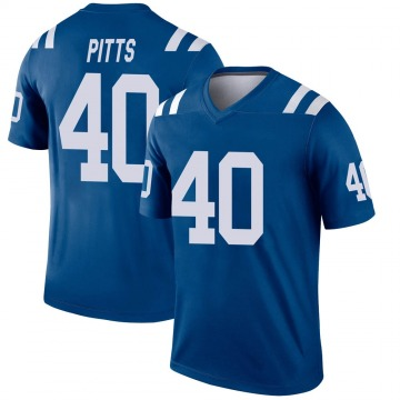 Youth Nike Indianapolis Colts Lafayette Pitts Royal Jersey - Legend