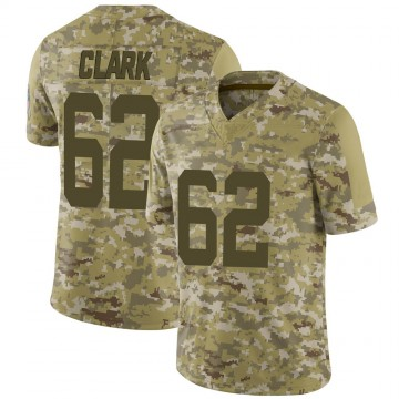 Youth Nike Indianapolis Colts Le'Raven Clark Camo 2018 Salute to Service Jersey - Limited