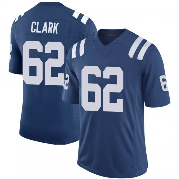 Youth Nike Indianapolis Colts Le'Raven Clark Royal 100th Vapor Jersey - Limited