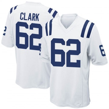 Youth Nike Indianapolis Colts Le'Raven Clark White Jersey - Game