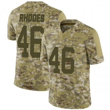 Youth Nike Indianapolis Colts Luke Rhodes Camo 2018 Salute to Service Jersey - Limited