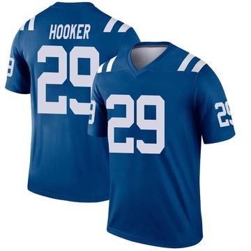 Youth Nike Indianapolis Colts Malik Hooker Royal Inverted Jersey - Legend