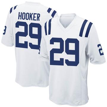 Youth Nike Indianapolis Colts Malik Hooker White Jersey - Game