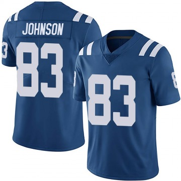 Youth Nike Indianapolis Colts Marcus Johnson Royal Team Color Vapor Untouchable Jersey - Limited