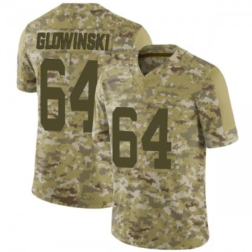 Youth Nike Indianapolis Colts Mark Glowinski Camo 2018 Salute to Service Jersey - Limited