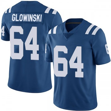 Youth Nike Indianapolis Colts Mark Glowinski Royal Team Color Vapor Untouchable Jersey - Limited