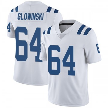 Youth Nike Indianapolis Colts Mark Glowinski White Vapor Untouchable Jersey - Limited