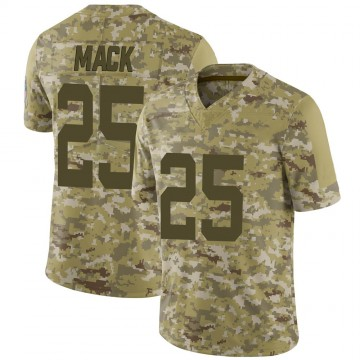 Youth Nike Indianapolis Colts Marlon Mack Camo 2018 Salute to Service Jersey - Limited