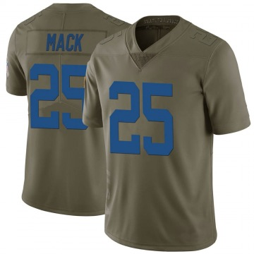 Youth Nike Indianapolis Colts Marlon Mack Green 2017 Salute to Service Jersey - Limited