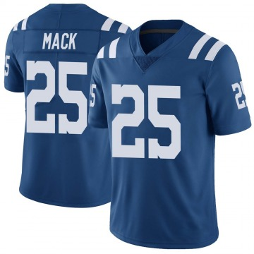 Youth Nike Indianapolis Colts Marlon Mack Royal Color Rush Vapor Untouchable Jersey - Limited