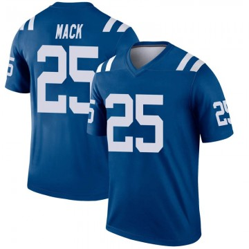 Youth Nike Indianapolis Colts Marlon Mack Royal Inverted Jersey - Legend