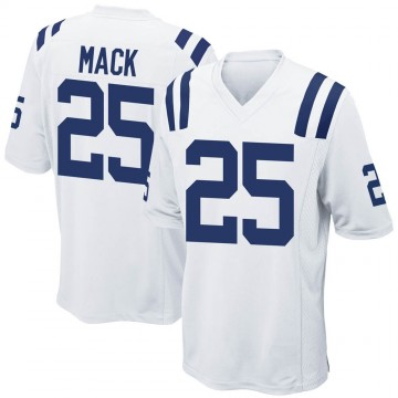 Youth Nike Indianapolis Colts Marlon Mack White Jersey - Game