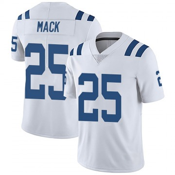 Youth Nike Indianapolis Colts Marlon Mack White Vapor Untouchable Jersey - Limited