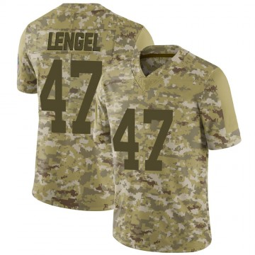 Youth Nike Indianapolis Colts Matt Lengel Camo 2018 Salute to Service Jersey - Limited